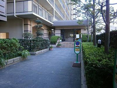 【エントランス】ネオコーポ大阪城公園2号館