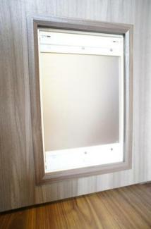 八ツ山三和ハウス:猫ちゃん専用の扉もあります!