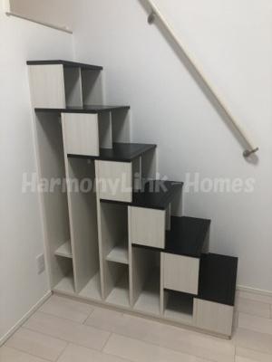 カーサ ブルーノの収納付き階段(同一仕様写真)☆