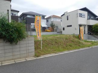 千葉市緑区おゆみ野中央 売地 新しい家が建ち並ぶきれいな分譲地です。