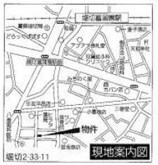 【地図】新築住宅堀切2-33-11