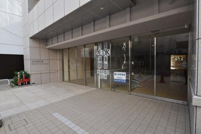 【エントランス】JASPER御堂筋本町