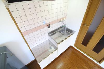 【キッチン】エビスマンション