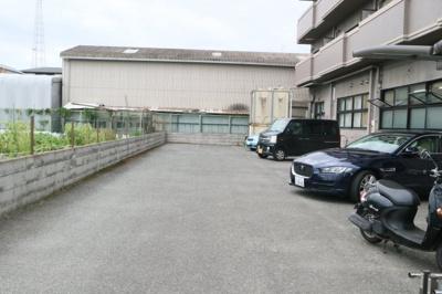 【駐車場】マンション阪奈
