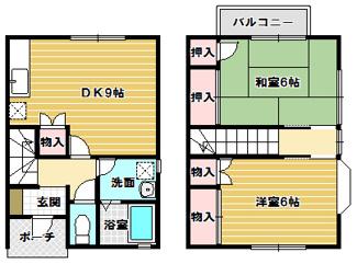 A101号室間取り図