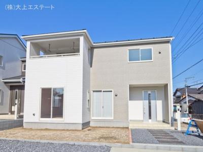 【外観】つくば市谷田部 第8 1号棟クワイエ地震の揺れを吸収する家