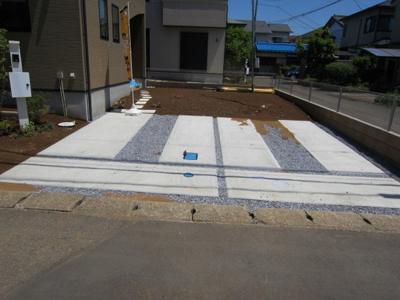 【駐車場】荒川沖東2期2号棟 ケイアイフィット建物地盤保証の家