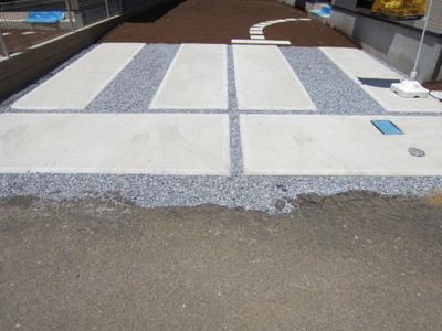 【駐車場】荒川沖東2期 1号棟 ケイアイフィット建物地盤保証の家
