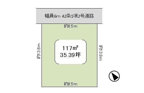 【土地図】龍ケ崎市佐貫町 駅徒歩8分