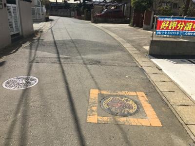 南東6m前面道路!(^^)!車の出し入れが便利な幅です♪毎日の事だから便利です!(^^)!