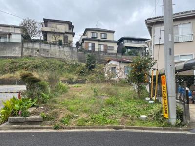【前面道路含む現地写真】開発分譲地内 取手市新取手 売地