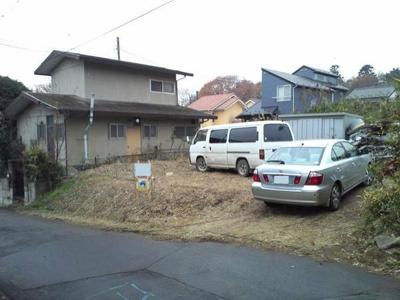 【外観】開発分譲地 取手市下高井 売地