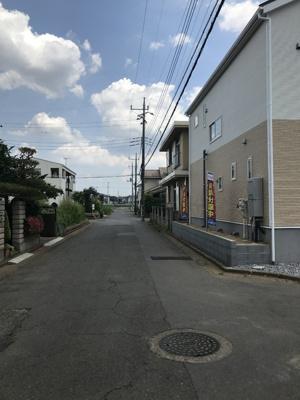 【前面道路含む現地写真】つくば市谷田部 第11 1号棟