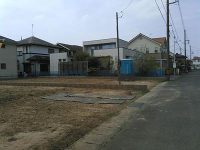 【前面道路含む現地写真】龍ケ崎市中根台1期1号棟 ケイアイフィット建物地盤保障の家