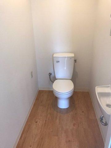 トイレにもスペースを確保