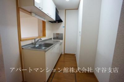 【キッチン】白山ヒルズⅡ弐番館