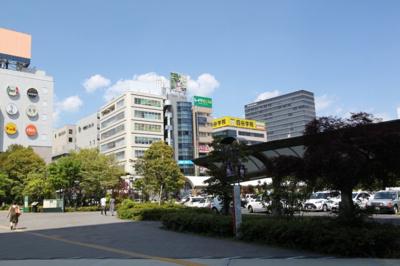 仙台駅東口からの眺め
