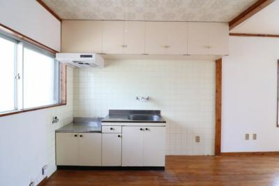 【キッチン】山里アパート