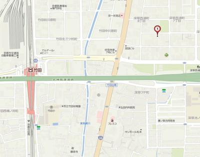【地図】メゾン・ド・ルフレ