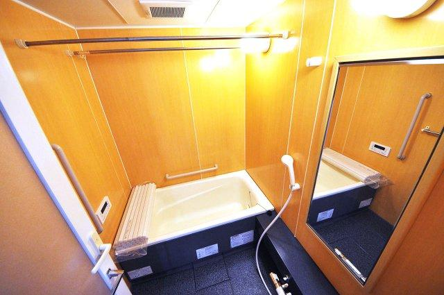 高級感ある浴室ですね。 ぜひご見学くださいね