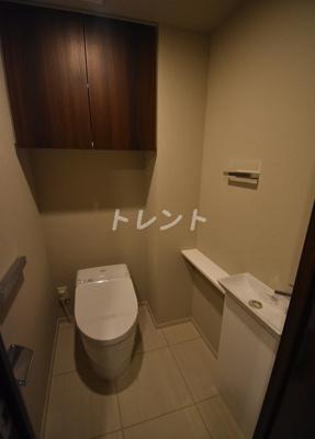 【トイレ】ミレアコート銀座プレミア
