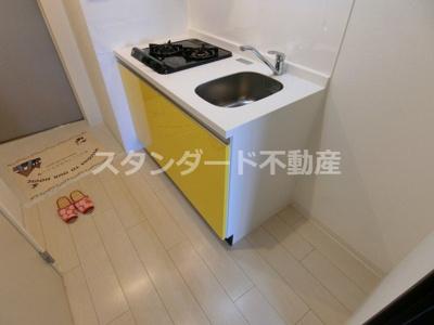 【キッチン】ビガーポリス224松ヶ枝Ⅱ