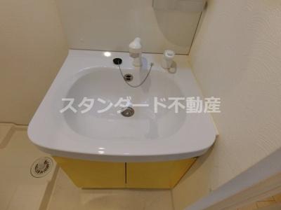 【洗面所】ビガーポリス224松ヶ枝Ⅱ