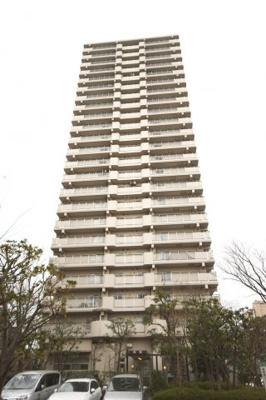 【外観】清新中央ハイツ6号棟 13階 角 部屋 リ ノベーション済