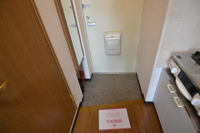 【玄関】ワイズフラッツNC