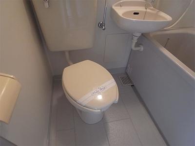 【トイレ】エイエムハイツ