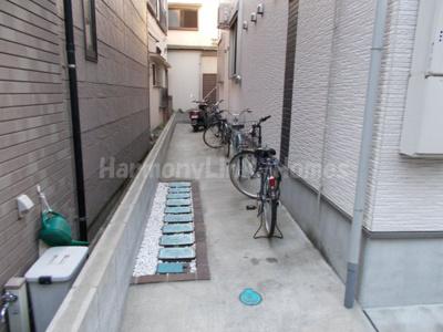 MON・STYLEの駐輪スペース