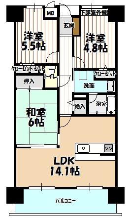 3LDK、4LDK ファミールハイツ鳳サウスフォレストの売却事例も多数ございます。