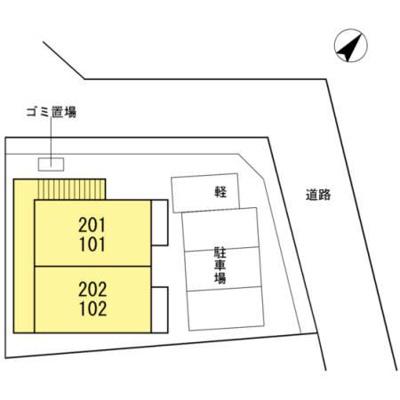 【区画図】ウェーブ