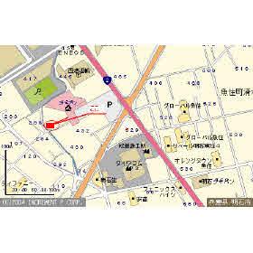 【地図】ソフィア清水C棟