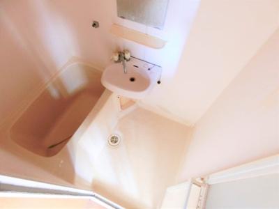 【浴室】ハニーハイツ