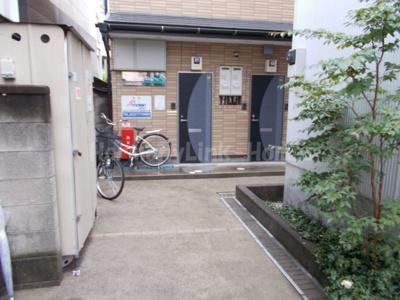 Meson de Adeliaeの駐輪スペース☆