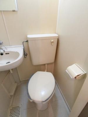 【トイレ】サンハイツ大芝