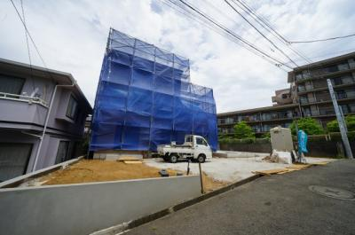 【外観】保土ヶ谷区西谷町全2棟 新築戸建【成約】