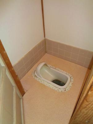 【トイレ】はびきの4丁目テラスハウス