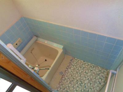 【浴室】はびきの4丁目テラスハウス