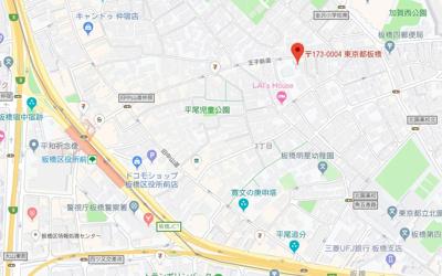 【地図】L-Flat板橋区役所前