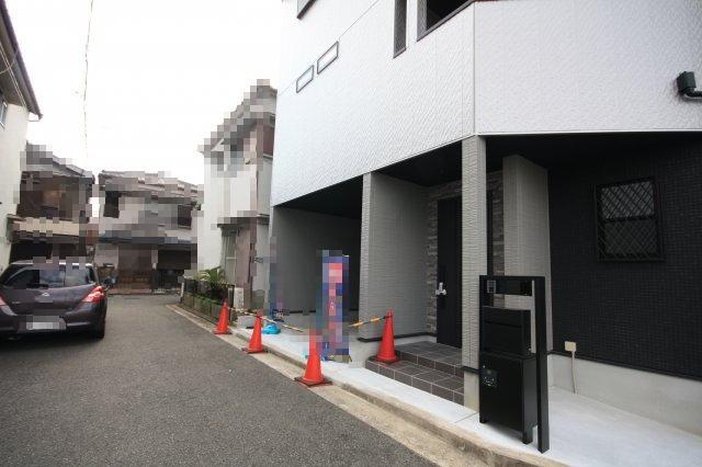 【前面道路含む現地写真】堺市西区鳳東町 新築一戸建て