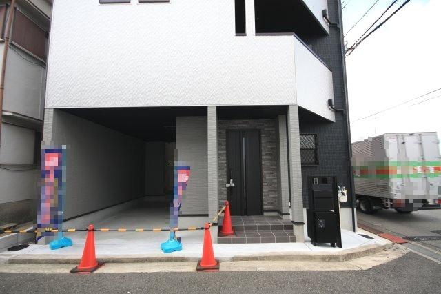 【外観】堺市西区鳳東町 新築一戸建て