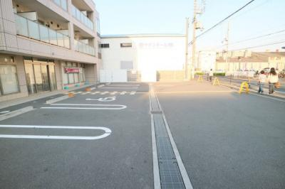 【駐車場】跡部北の町1丁目店舗