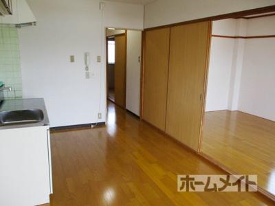 【居間・リビング】桜代マンション