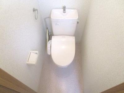 温水洗浄便座は残置物