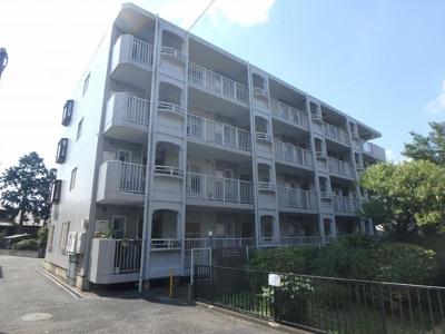 南武線「中野島」駅より徒歩10分!鉄筋コンクリートの4階建てマンションです♪