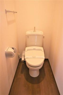 【トイレ】ウィステリア B棟