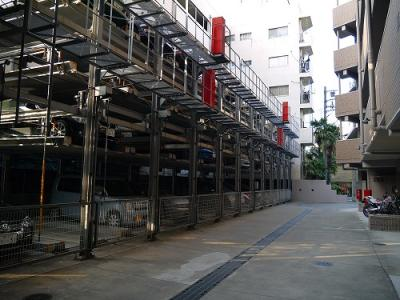 【外観】グランイーグル多摩川Ⅲ 駐車場
