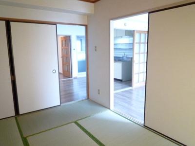 【和室】リシェス久米川2号館